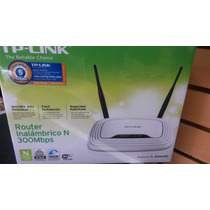 Router Inalambrico Tplink Tl-wr841nd 02 Antenas 300mpbs Wifi