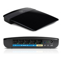 Router Cisco Linksys E1200 Wifi 300mbps 2 Antenas 2.4 Ghz