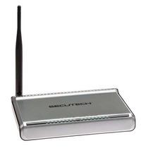 Router Inalámbrico 150mbps Secutech Ris-33s (gris)