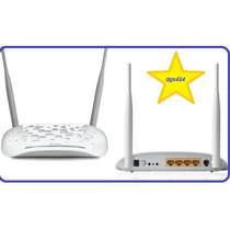 Moden Router Wife Adsl2+ 300mbps Tp-link Td-w8961nd