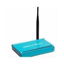 Router Inalambrico Secutech 1 Antena/4puertos 150mbps