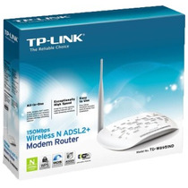 Router + Modem Tplink 1 Antenas Wifi Inalambrico 150 Mbps