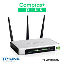 Router 3 Antenas Wifi Tp-link Tl-wr940n 300mbps N - 350mts2