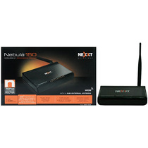 Router Nexxt Nebula 150 - 150mbps 1 Antena 5dbi 4 Puertos