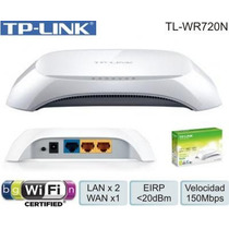 Router Inalambrico Tp-link Wifi Tl-wr720n 150mbps 2.4ghz