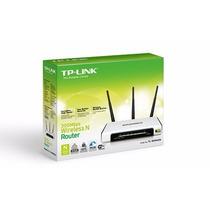 Router Tp-link Tl-wr941nd 300 Mbps 3 Antenas Desmontables