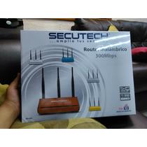 Router Inañambrico Secutech 300 Mbps Ris-440