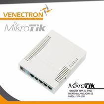 Router Mikrotik Rb951g-2hnd Balanceador, Wifi, Gigabit, Vpn