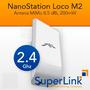 Ubiquiti Nanostation Loco M2 2.4ghz 8.5dbi Factura Fiscal