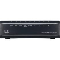 Router Cisco Balanceador Rv042 Vpn Dual Wan 10/100 4 Puertos