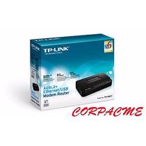 Modem Router Tp-link +adsl2 Ethernet/usb Rj11 Rj45 Td-8817