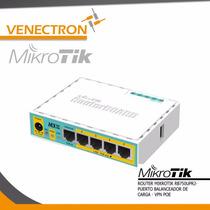 Router Mikrotik Rb750up - Balanceador De Carga - Vpn-poe