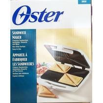 Sandwichera Oster 4 Panes Sanduchera 1 Año Garantia Nuevas
