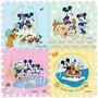 Piso Lamina Foam 45x45 Para Bebe Ejercicios Mickey Mouse