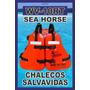 Chaleco Salvavidas Marca Sea Horse Wv-10
