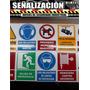 Señalizacion - Avisos De Seguridad Industrial Crvd