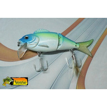 Señuelo De Pesca Vense Modelo Articulado 11cm