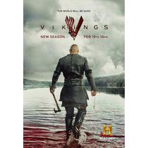 Vikingos/ Vikings Serie Completa! 3 Temporadas Dvd Hd!