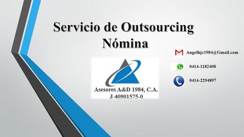Servicio De Outsourcing De Nómina