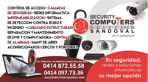 Servicio Tecni E Instalacion De Camaras, Cercos, Redes E Inf