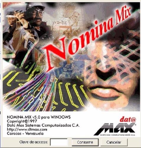 Servicio Técnico Nomina Mix - Mixnet (04166368123)