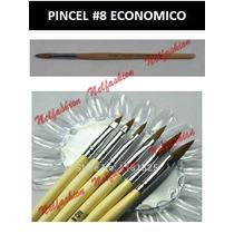 Pilcel #8 Para Acrilico Economico