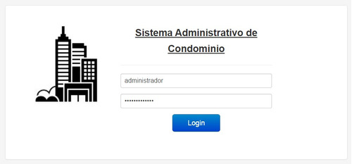 Sistema De Administración De Condominio Internet Correo Sms