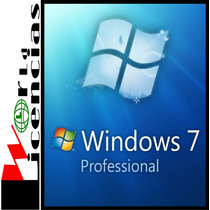 Windows 7 Pro Professional Sp1 Licencia Original Para 10 Pc