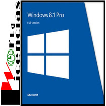Windows 8.1 Pro Professional Licencia Original Para 1 Pc