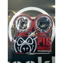 Ruedas Skate Marca Pig De 53mm