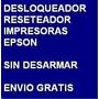 Reseteador Epson, Reset Tx120, Tx130, Nx127 Y Nx130
