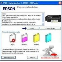 Reset Epson Resetea Error De Tinta L200 Entrega Email
