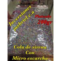 Cola De Sirena 200 Gramos Para Uñas Colores Variados