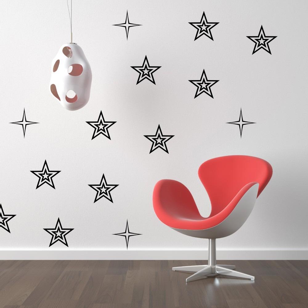 Stickers vinilos decorativos flores estrellas paredes full for En donde venden vinilos decorativos