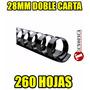 Anillos P/encuadernar Doble Carta 28mm 260hojas(incluye Iva)