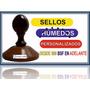 Sellos Personalizados De Madera (redondo) Gran Oferta