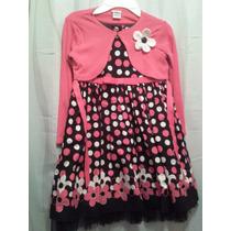 Vendo Bello Vestido De Gala Original Youngland Niña Talla 4
