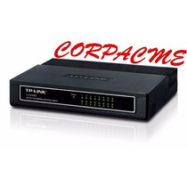 Switch Tp-link 16 Puertos A 10/100mbps Tl-sf1016d