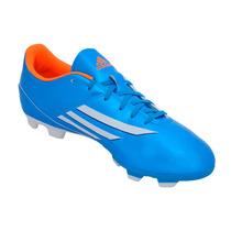 Zapatos De Futbol Adidas F5 (azul/blanco)