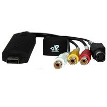 Capturadora De Video Y Audio Easy Cap Usb 2.0 Easycap