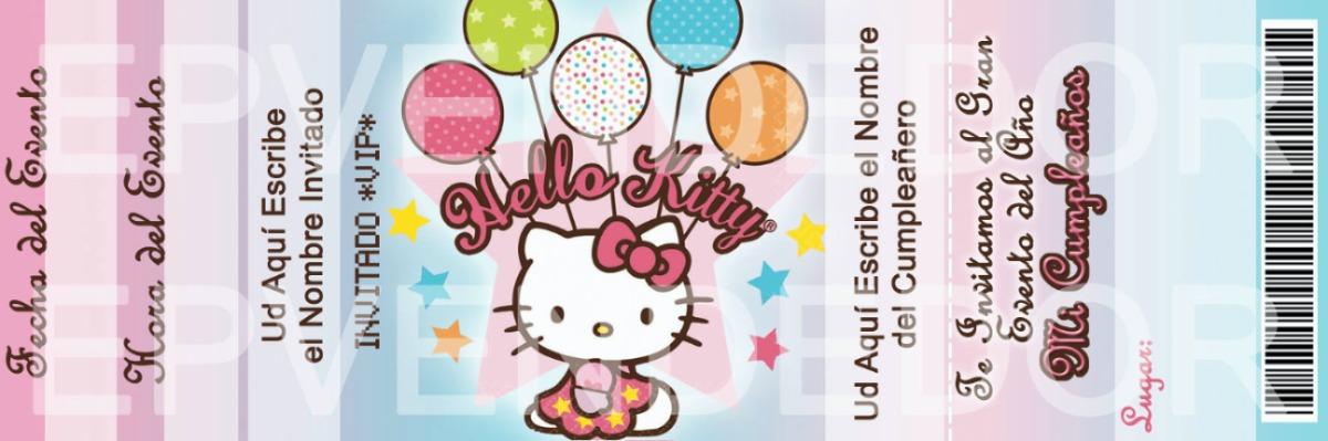 Cartas De Invitación Hello Kitty Imagui