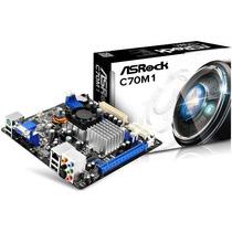 Tarjeta Madre C70m1 Asrock + Amd Dual-core C-70 Apu