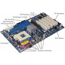 Tarjeta Foxconn, Procesador Celeron D 2.2 Y Memoria De 256mb