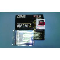 Combo Tm Asus Am1 Athlon 2,05 Ghz Quad Core+4gb Ram