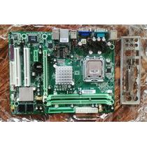 Combo Tarjeta Madre Ddr2 Biostar 945gc Con Procesador2.7ghzz