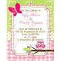 Imagen De Invitacion Baby Shower Niña - Invitaciones Epv