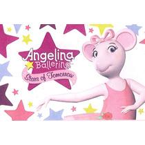 Kit Imprimible Angelina Ballerina Editables Tarjeta Y Mas