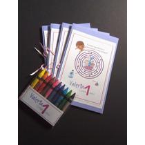 Cuadernos Para Colorear Y Creyones Personalizados