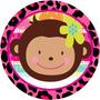 Kit Imprimible Monita... Monkey Love, Cumpleaño, Baby Shower