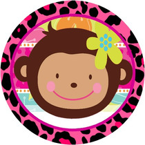 Kit Imprimible Monita... Monkey Love, Cumpleaño, Baby Shower